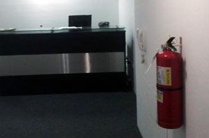 Instalación de sistemas antiincendios: extintores